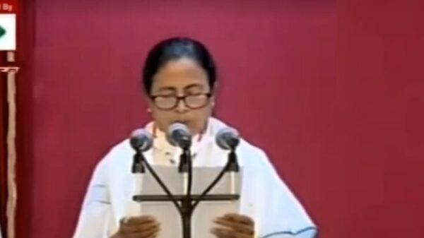 মুখ্যমন্ত্রী হিসেবে শপথ নিলেন মমতা বন্দ্যোপাধ্যায়